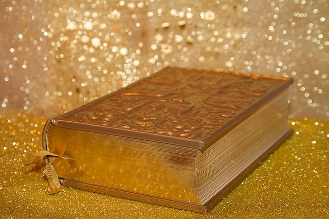 Bible, golden