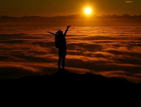 Praise on mountain