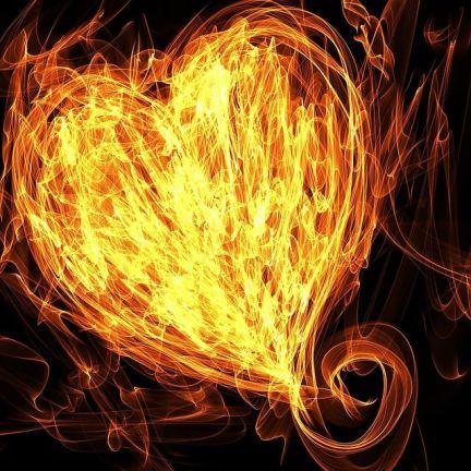 Heart Fire Lines