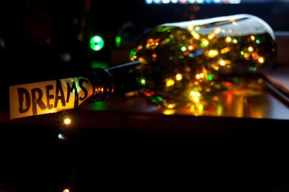 Dreams bottle lights