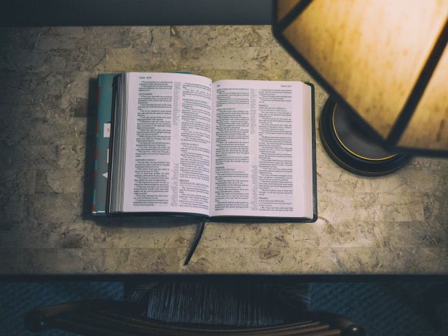Bible lamp